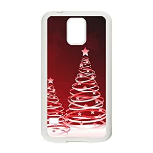 The Beautiful Christmas Trees Hight Quality Plastic Case for Samsung Galaxy S5