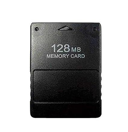 NiceButy Alta Velocidad 128 MB Tarjeta de Memoria Compatible para Sony PS2 Playstation 2 Consola
