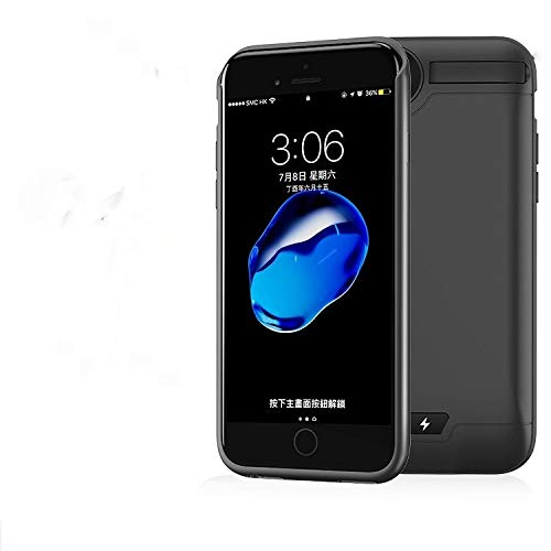 new concept ad95a 502b0 Amazon.com: Stingna 5000mAh Backup Power Bank Battery Case for Apple ...