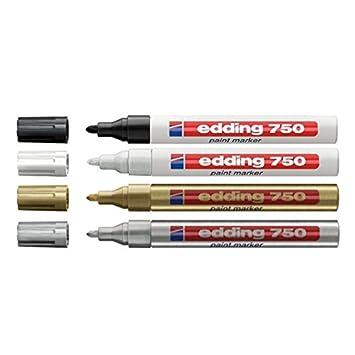 Weiss Edding 750 Weiss Edding 750 Paint Marker Lackstift Z B