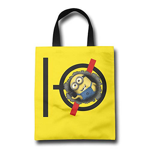 MY LORD Yellow Capsule Superbanana Soldier Pilots Tote Bag From Polyester Canvas