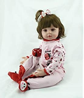 Amazon.com: XJJ Realistic Reborn Baby Doll 22 Inch Real Looking ...