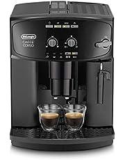 De'Longhi Caffé Corso Esam 2600 Volautomatische Espressomachine met Melkopschuim voor Cappuccino, 2-Kopjesfunctie, Groot 1,8 Liter Waterreservoir, Zwart