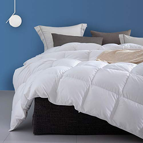 Dafinner Premium 100% Cotton Goose Feather Down Comforter