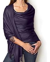 Dark Navy Blue pashmina style shawl / scarf / Wrap
