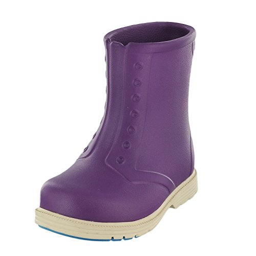 Native Sid Child Lightweight Slip On Rain Boot , Orchid Purp