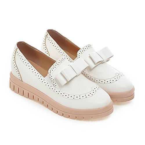 Primavera dulce arco agregando zapatos alto/Corte de base plana bajo zapatos/Zapatos del estudiante A