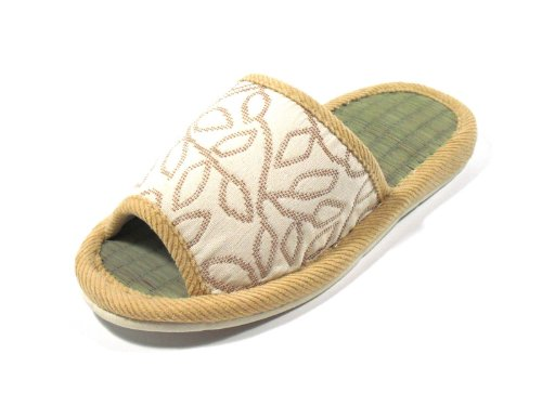 available KNP KNP26005T FIVE Tatami colors Slippers Indoor GREEN in LIFE Asian variety Beige sizes Unisex wr8wZgq
