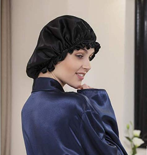 Seidensatin-Nacht-Schlafmütze Haarpflege Beauty Bonnet Hat Head Cover