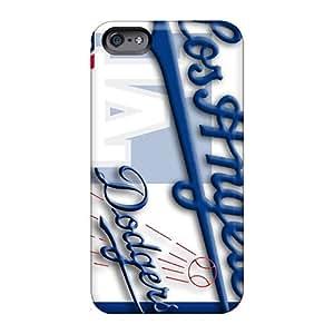 Apple Iphone 6 LLM10549iXhu Unique Design Trendy Los Angeles Dodgers Pattern Shock-Absorbing Hard Phone Case -JamieBratt