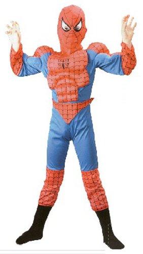 design innovativo stati Uniti seleziona per genuino costume carnevale UOMO RAGNO tg S bambino 5/7 anni