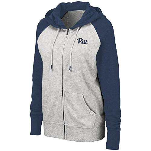 Colosseum Womens Pittsburgh Panthers Trento Full Zip Hoodie - S
