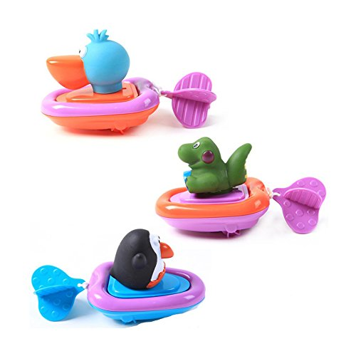 Little Bado Baby Bathing Toys Wash Play Cartoon animal Pull Educational Toys for 1 2 3 years old kid toddler gift toy by Little Bado