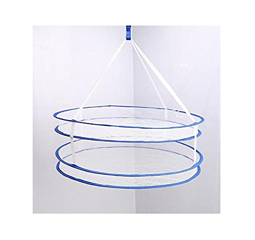 Higere Foldable Double Layer Drying Rack Hanging Clothes Lau