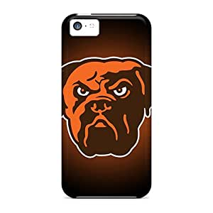 Tpu Cases Covers Compatible For Iphone 5c/ Hot Cases/ Cleveland Browns 1