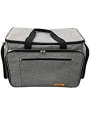 HANDY Sewing Machine Carrying Bag with Multiple Storage Pockets, Universal Travel Bag – GJ51126 (GREY)