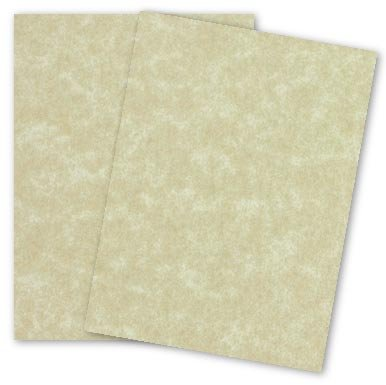 AGED Parchment Card Stock Paper 8-1/2-x-11-inches - 80lb Cover - 100 PK ()