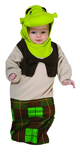 Shrek Bunting And Headpiece Shrek, Shrek Print, Newborn Costume -