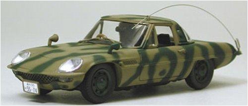 1/43 マツダ コスモスポーツ MAT VEHICLE(迷彩/帰ってきたウルトラマン特捜車) 「ダイキャストモデルシリーズ」 K03102C