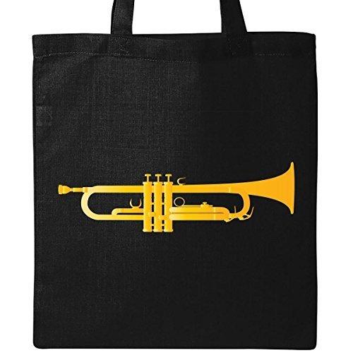 inktastic Trompete Gold Messing Musik Instrument Tasche schwarz von inktastic sbnlayc7