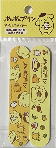 Sanrio Pom Pom Purin Nail File & Nail Polish Manicure Files kit 2pcs Set 2×10cm