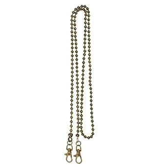 Prettyia 120cm Beads Chain Cross Body Shoulder Bag Chain Replacement Purse Making Chain - Bronze