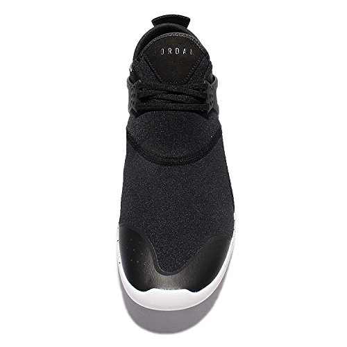 Nike Air Jordan Mouche 89 Hommes Formateurs 940267 Baskets Chaussures (uk 9 Us 10 Eu 44, Noir Blanc 010)