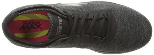 Skechers Performance Women's Go Step Lite Lace-up Walking Shoe Black/Gray really cheap online wLVjx