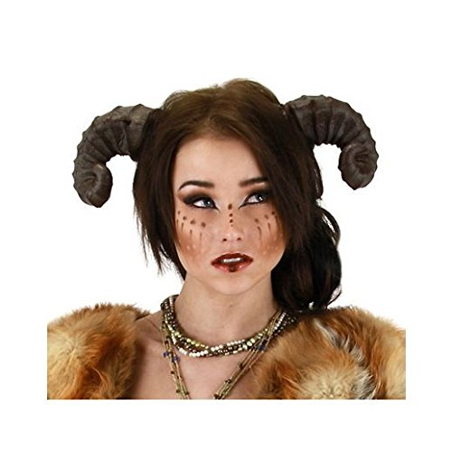 [Fancy Face Paint Color Halloween Satyr Horns] (Satyr Halloween Costumes)