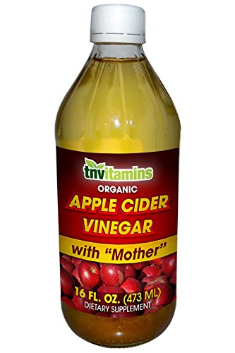 Organic Apple Cider Vinegar with Mother- 16 Fluid (Sore Throat Natural Apple)
