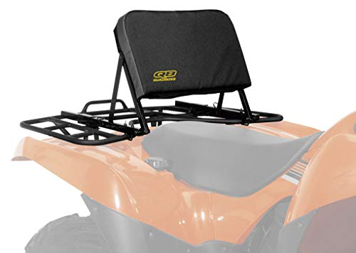 Quadboss ATV Backrest (Black) (Honda Atv Backrest)