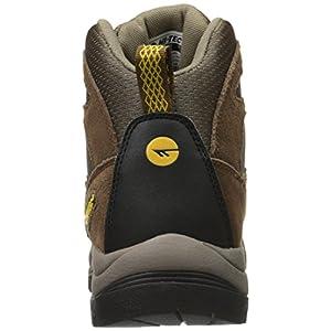 Hi-Tec Men's Skamania Mid Waterproof Hiking Boot, Brown/Gold,10 M US