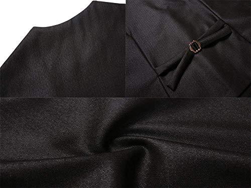 El Fit Chaleco Solapa Slim 2018 Elegante Del 4 Juego West Dura Mode Marca De Hombres Mangas Marineblau Boda Individual Sin Adelgazan F R a1aEYtx
