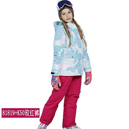 Veste Ski Ensemble Extérieur A En Vent Enfants D'hiver Pantalons Imperméables Pour De Au Pièces 2 XgXIa1Bn