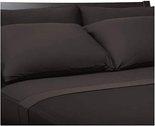 SHEEX Aire Performance Fabric 2 King Pillowcases Brown