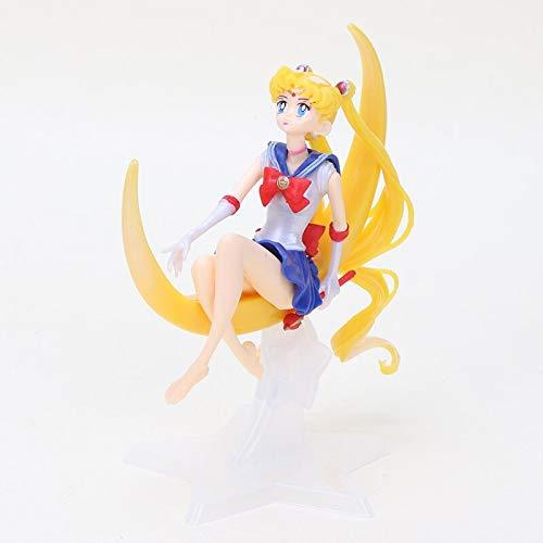 Anime 13cm Sailor Moon Figurine - Break Time Figure - Sailor Mars Mercury Venus Jupiter Action Figure Doll Toys