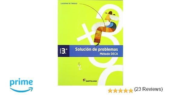 CUADERNO PROBLEMAS METODO DECA 3 PRIMARIA - 9788468010403: Amazon.es: Santillana: Libros