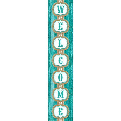 Teacher Created Resources Shabby Chic Welcome Banner  77197
