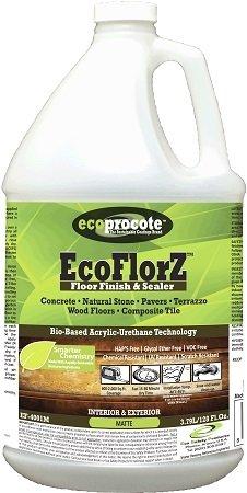 - EcoFlorZ Wood Floor Finish & Concrete Sealer - Polyurethane Sealer, Matte Sealer, 1 Gallon