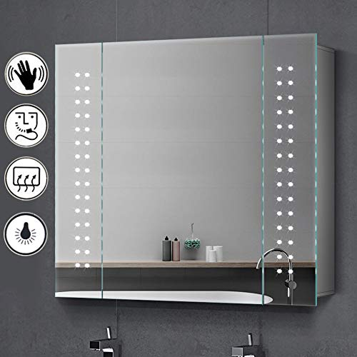 Salbay Illuminated Bathroom Mirror Cabi Buy Online In Malta At Desertcart