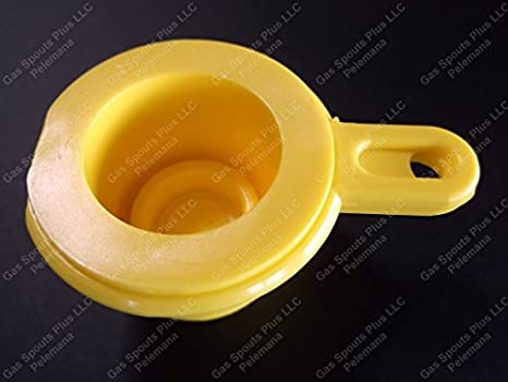 4 BLITZ YELLOW CAPS Gas Spout Cap Lid Replacement Aftermarket Closure PERFECT x4: Amazon.com: Industrial & Scientific