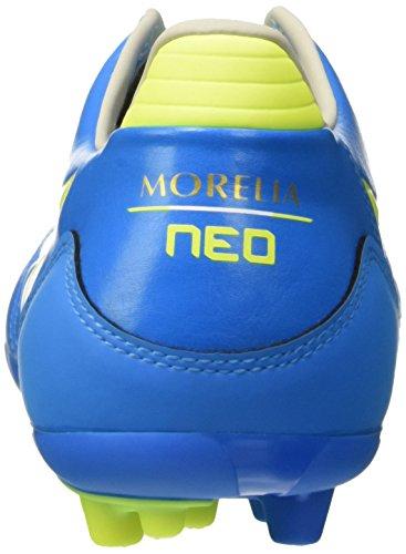 Mizuno Herren Morelia Neo Kl Ag Fußballturnier Blu (Diva Blue/Safety Yellow)