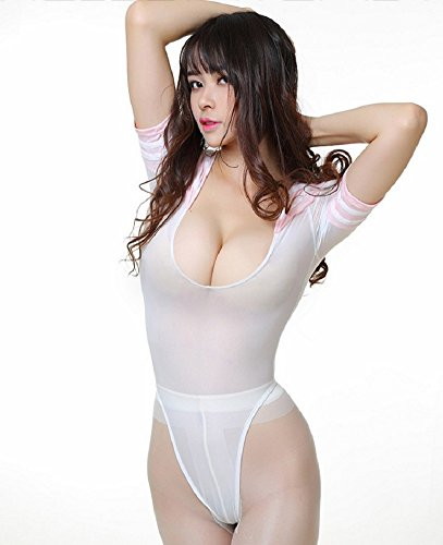 [SSJ:Japan Sailor Style High leg [Size S-M for Womens] Leotard Costume (Pink)] (Sailor Moon Adult Womens Costumes)