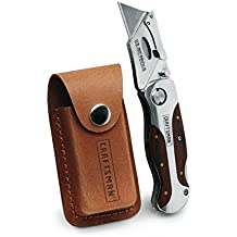 Craftsman Folding Utility Knife with Holster, 9-94845