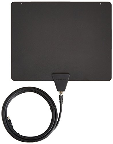 AmazonBasics Ultra Thin Indoor TV Antenna - 35 Mile Range