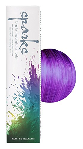 Sparks Bright Haircolor Purple Passion 3oz (3 Pack)