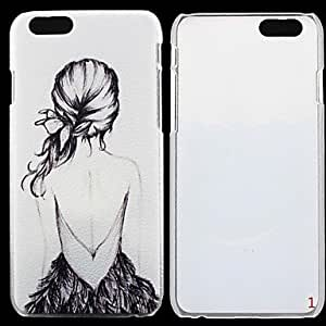 WQQ Ultra Thin Back Cover PC Hard Case for iPhone 6 , 3