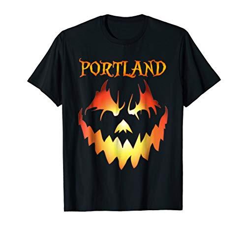 Portland, Oregon Jack O' Lantern Pumpkin Halloween Shirt