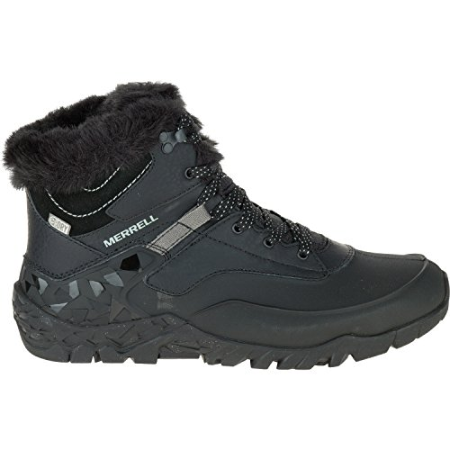- Merrell Women's Aurora 6 Ice + Waterproof Winter Boot, Black, 7 M US