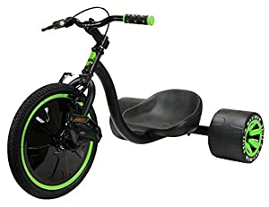 Amazon Com Madd Gear Mini Drift Trike Black Green